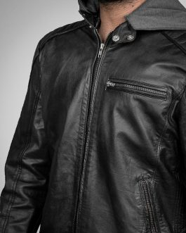 Bruce Wayne – Leather Jacket