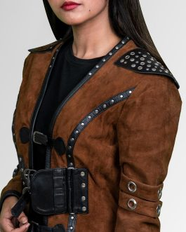 Eretria – Suede Leather Jacket