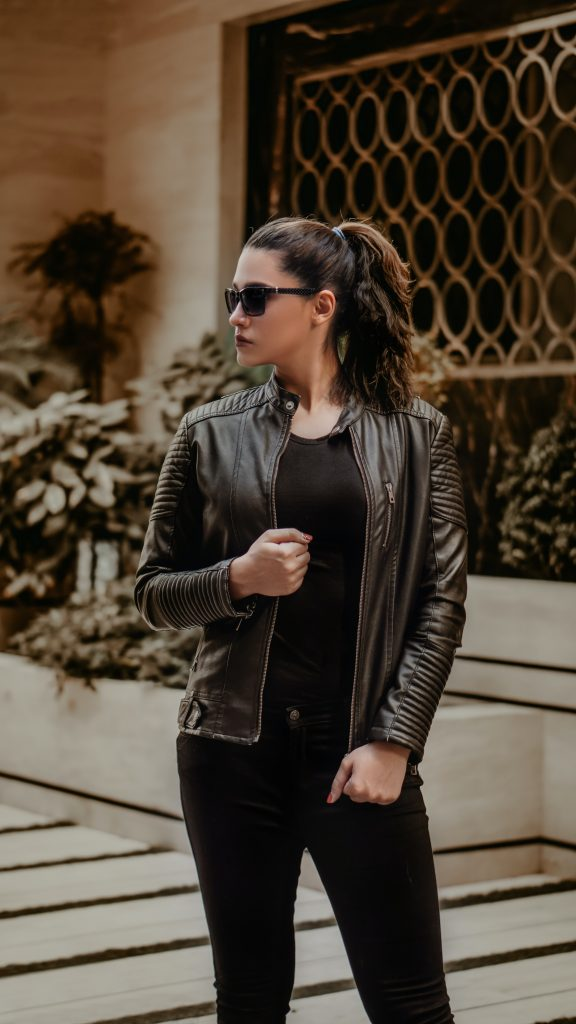Black Leather Jacket by The Leather Craft - Make The Choice